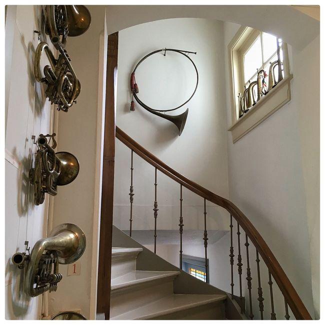 Music Museum Interior Stairway