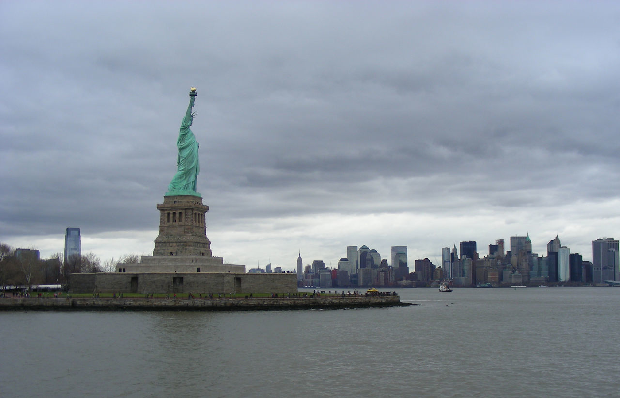 Beautiful stock photos of statue of liberty, Architecture, Building Exterior, Built Structure, Capital Cities