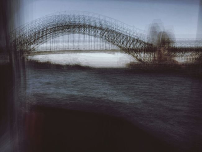 IPhoneography Vscofilm Sydney Iphoneography On The Move Blurred Motion Sydneyharbour