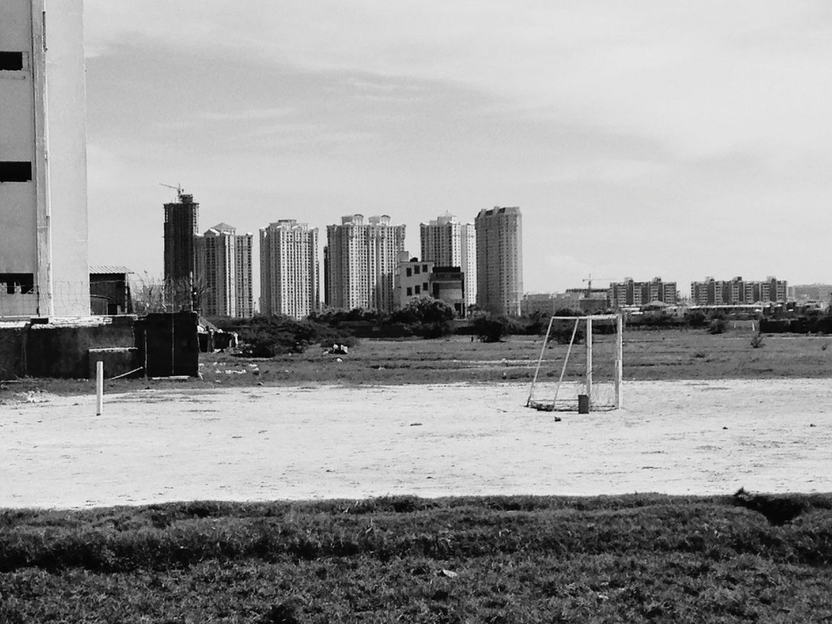 Shades Of Grey Super Summer Football Ground Cityscapes A.J Photography