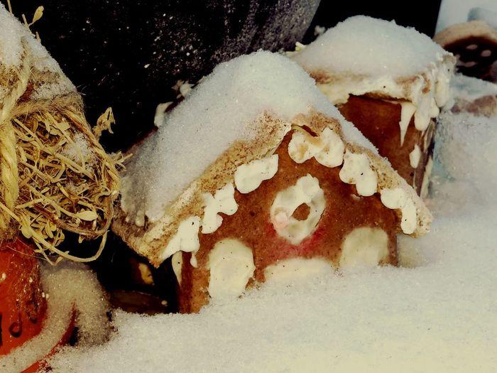 Snow Snow Village Farie Houses