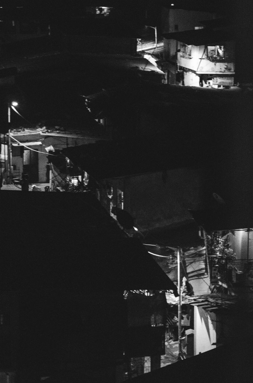 night, illuminated, bar - drink establishment, nightlife, city, indoors, no people