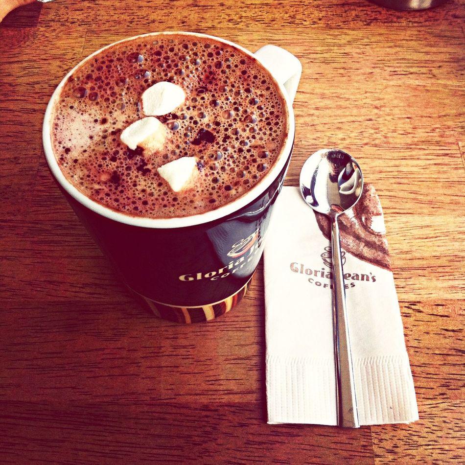 Gloria Jean's Coffee Coffee And Cigarettes Hot Chocolate EyeEm Best Shots