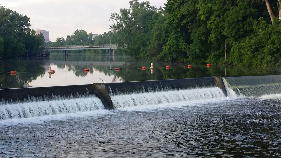 Old town dam