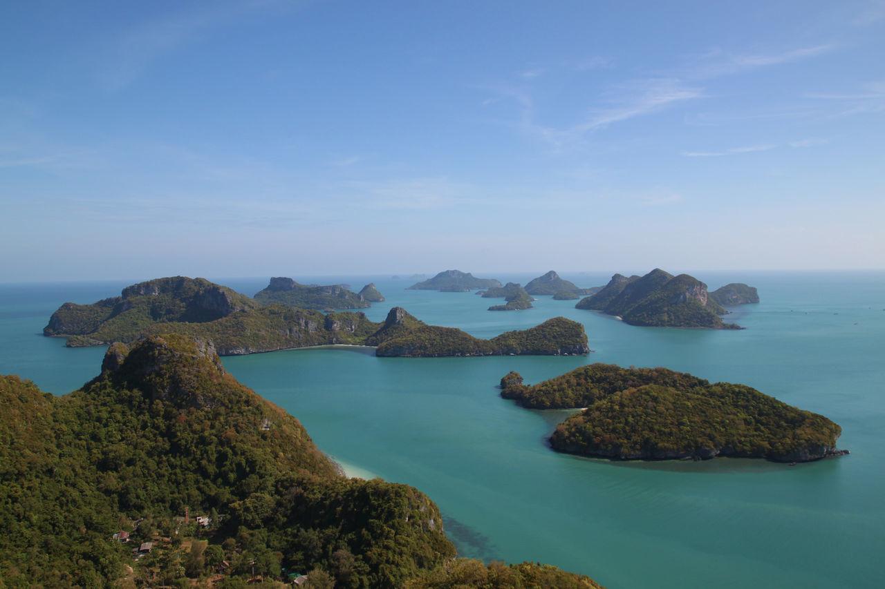 Beautiful stock photos of thong,  Ang Thong National Marine Park,  Archipelago,  Cloud - Sky,  Day