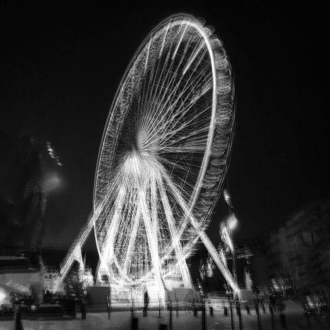 Grande roue, Marseille B&w MichelVincent Marseille