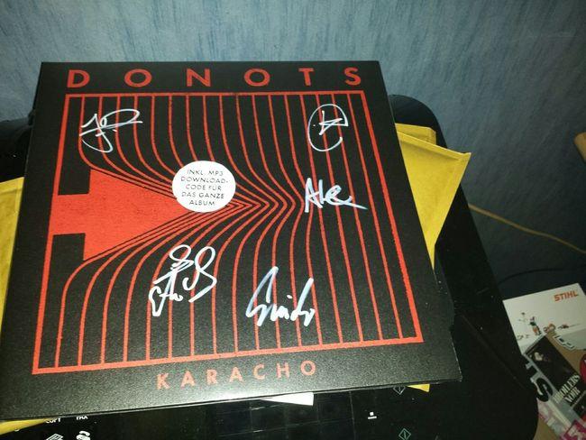 Donots  Vinyl Schallplatte Signiert Limitiert