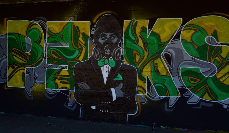 Black Grafiti Art Grafiti Wall Grafitti No People Outdoors Wall Yellow