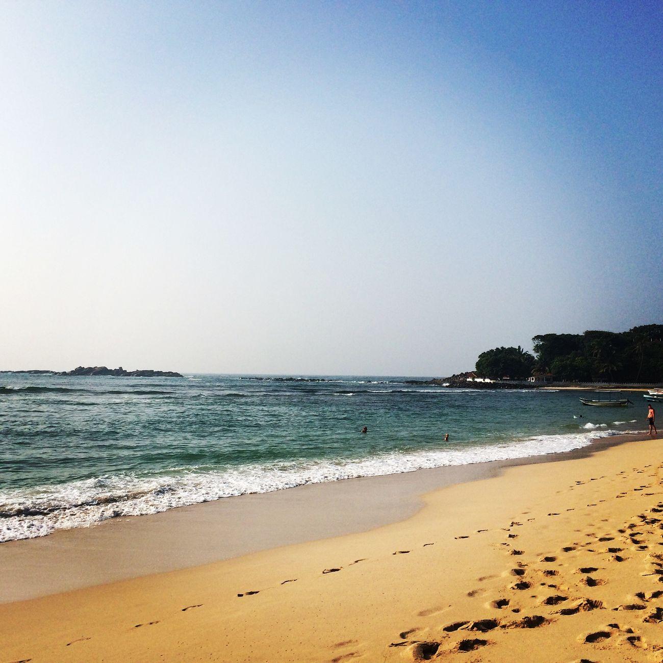 Beach Unawatuna SriLanka