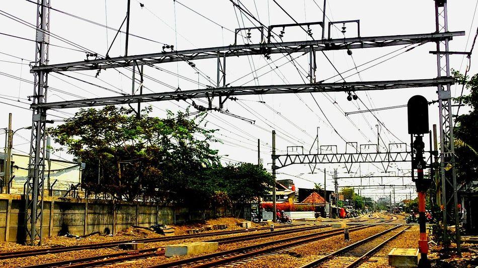 Railway photography Kemayoran Railwayphotography Keretaapi