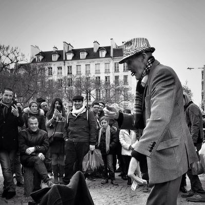 streetphotography in Paris by Annie Mallégol