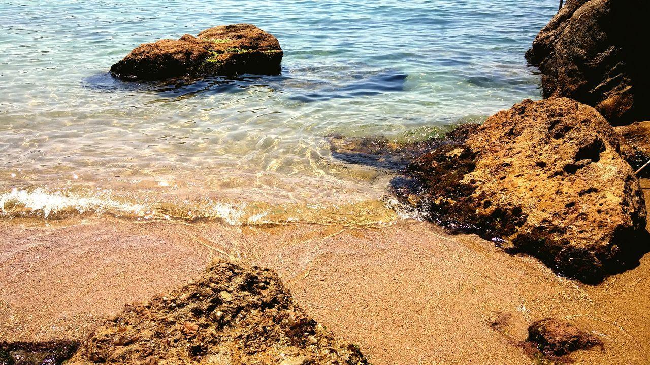 Sea Side Sea Water Sabbiaescogli Lerici Summer