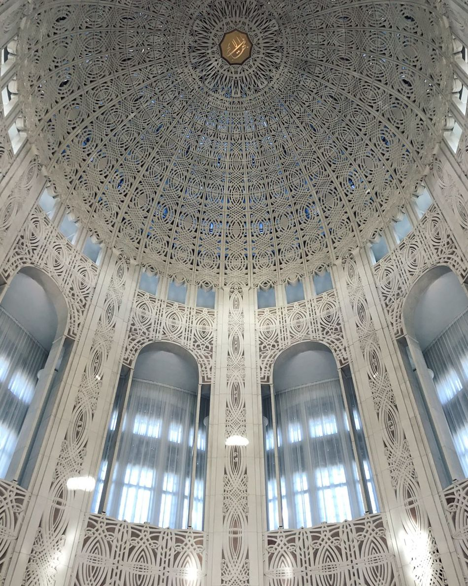 peace Dome Architecture Pattern Place Of Worship Bahai Temple