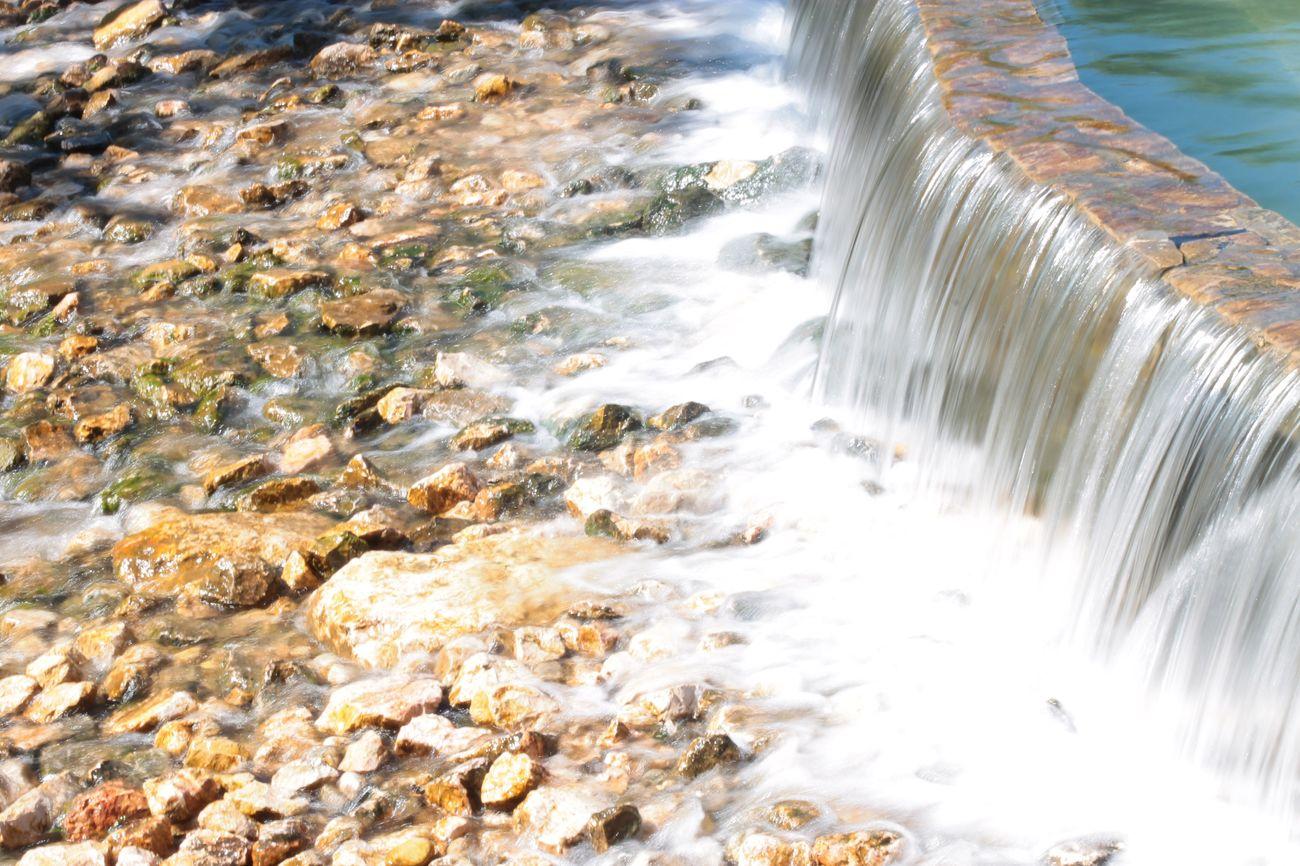 Water Motion Nature Waterfall Leiria Portugal