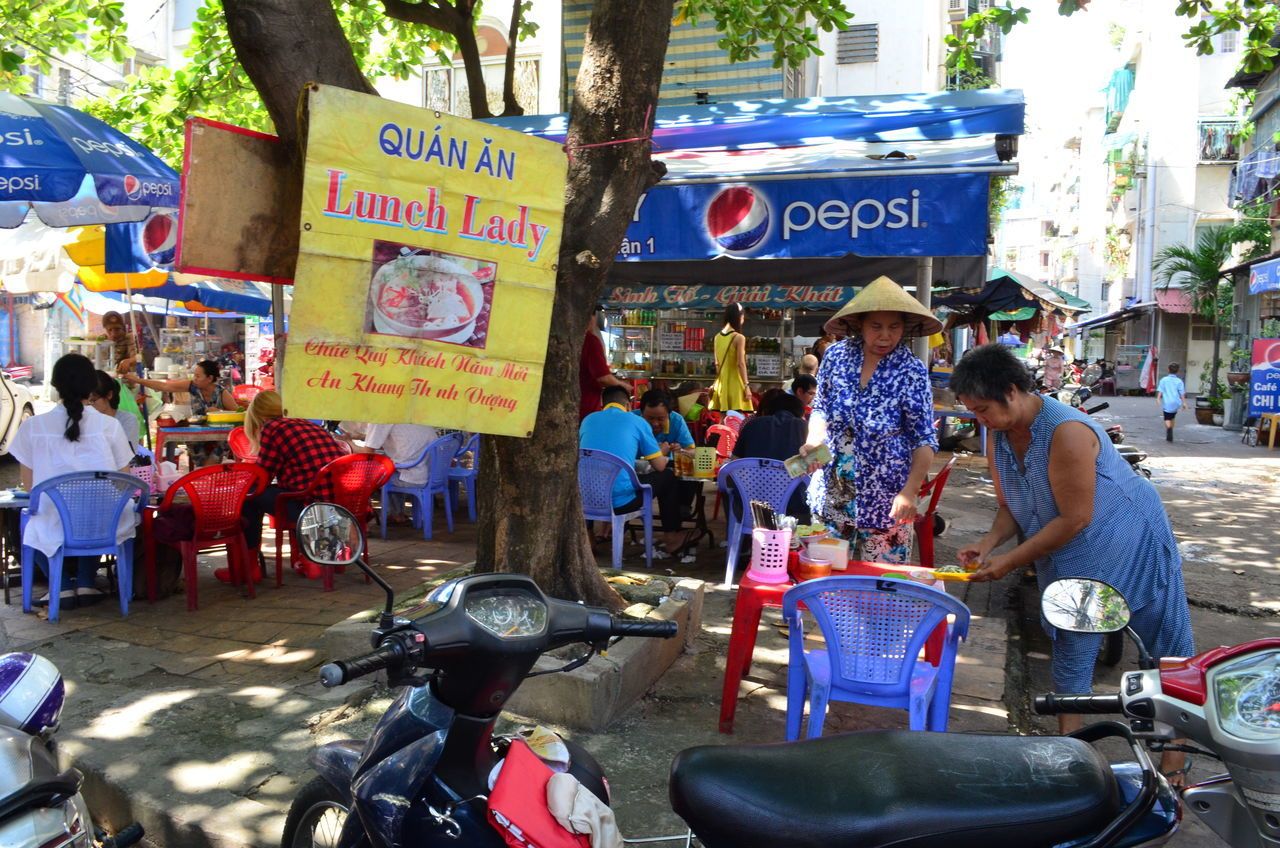 The Lunch Lady in Ho Chi Minh City Lunch Lady Ho Chi Minh City Saigon Pho Vietnam Street Food