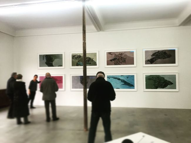 Art Inspection Saint Nazaire Art From The Back People Watching People People Watching Art People Photography