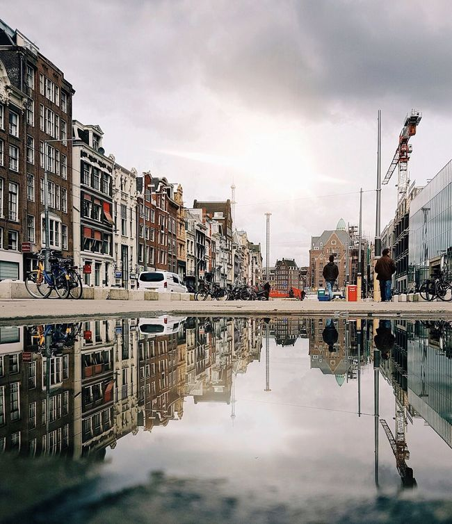 The Street Photographer - 2016 EyeEm Awards Urban Landscape Eye4photography  The Great Outdoors With Adobe Urbanphotography Puddle