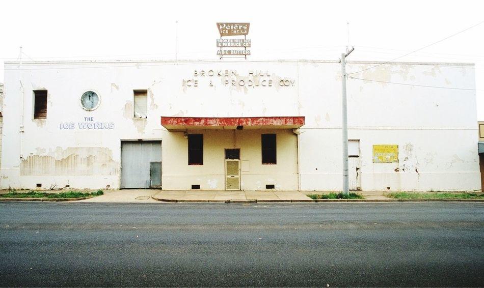 Broken Hill Broken Hill Building Exterior Architecture Factory