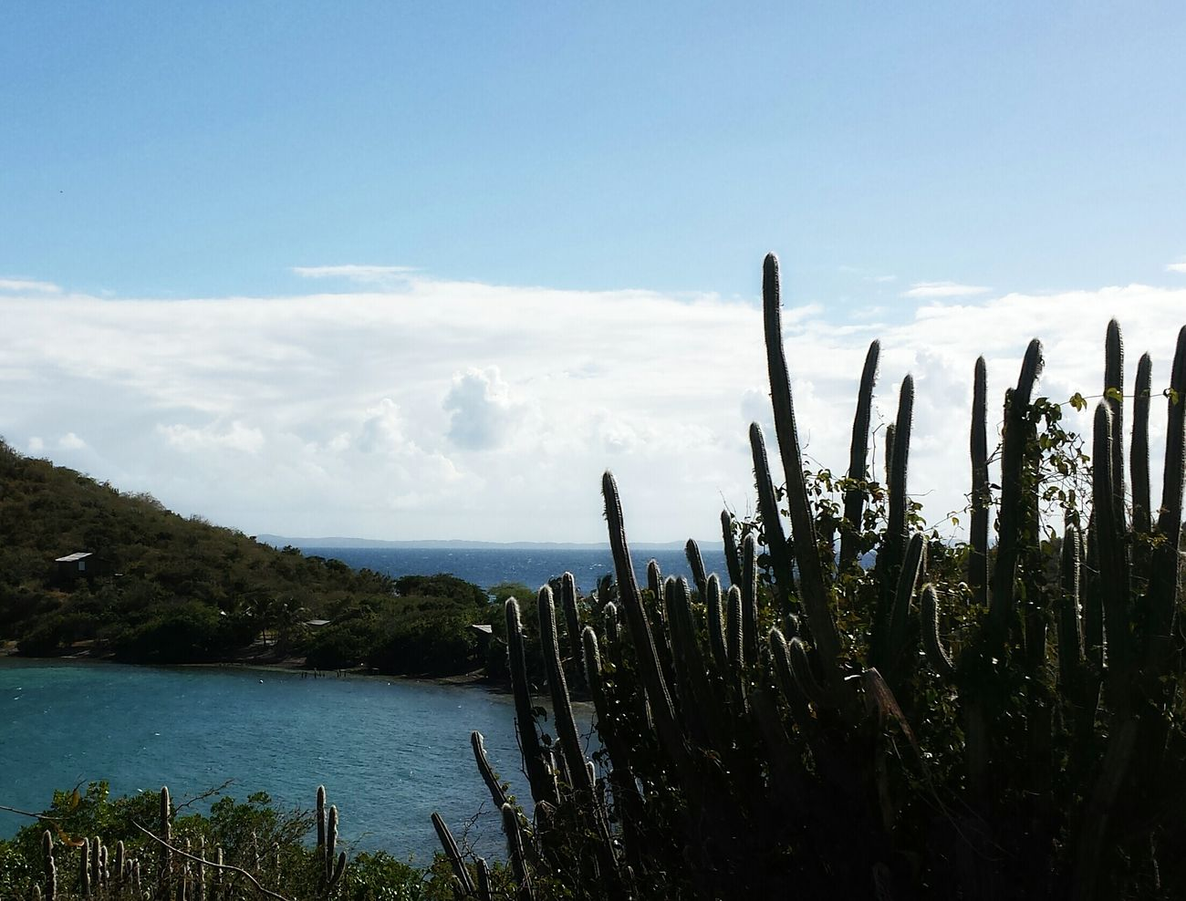 ... a view at Soldier's point... to enjoy...at Isla Culebra , Puerto Rico