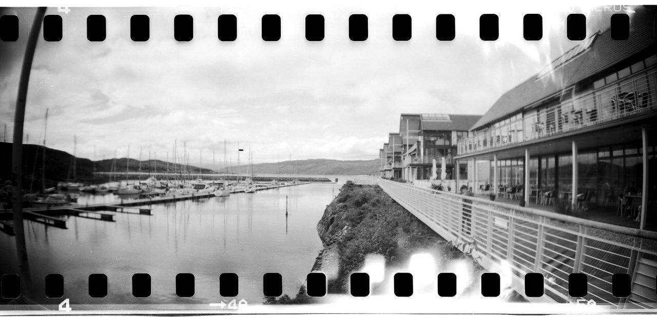 35mm Film AcroS Black And White Day Film Photography Lomography Neopan No People Outdoors Sky Sprocket Rocket Panorama