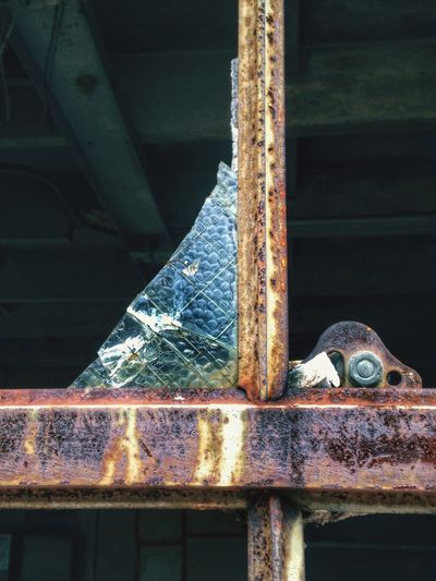 Metal Rusty Safety Damaged Close-up Weathered Obsolete Deterioration Day Bad Condition Iron - Metal Messy Green Color