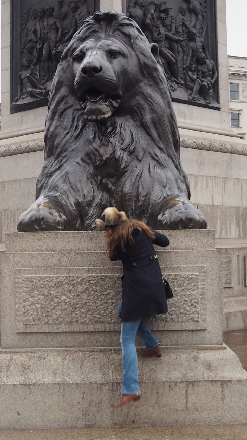 Adapted To The City Statue Lion - Feline The Purist (no Edit, No Filter) Getty Images TheMinimals (less Edit Juxt Photography) London Street Photography Shootermag
