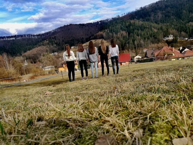 Mountain Nature Grass SkyTree Beauty In Nature Friends Brenna Poland Sing Music Choir
