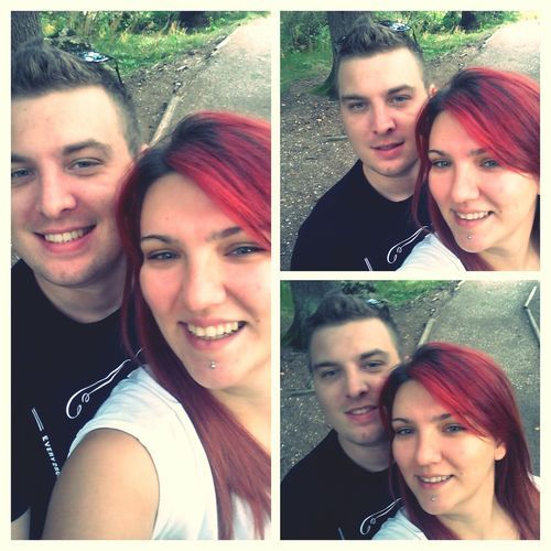 With My Love ❤ Tbt ❤ 2014 Redhead Beautiful Smile :) Love Is In The Air Loveiseverywhere