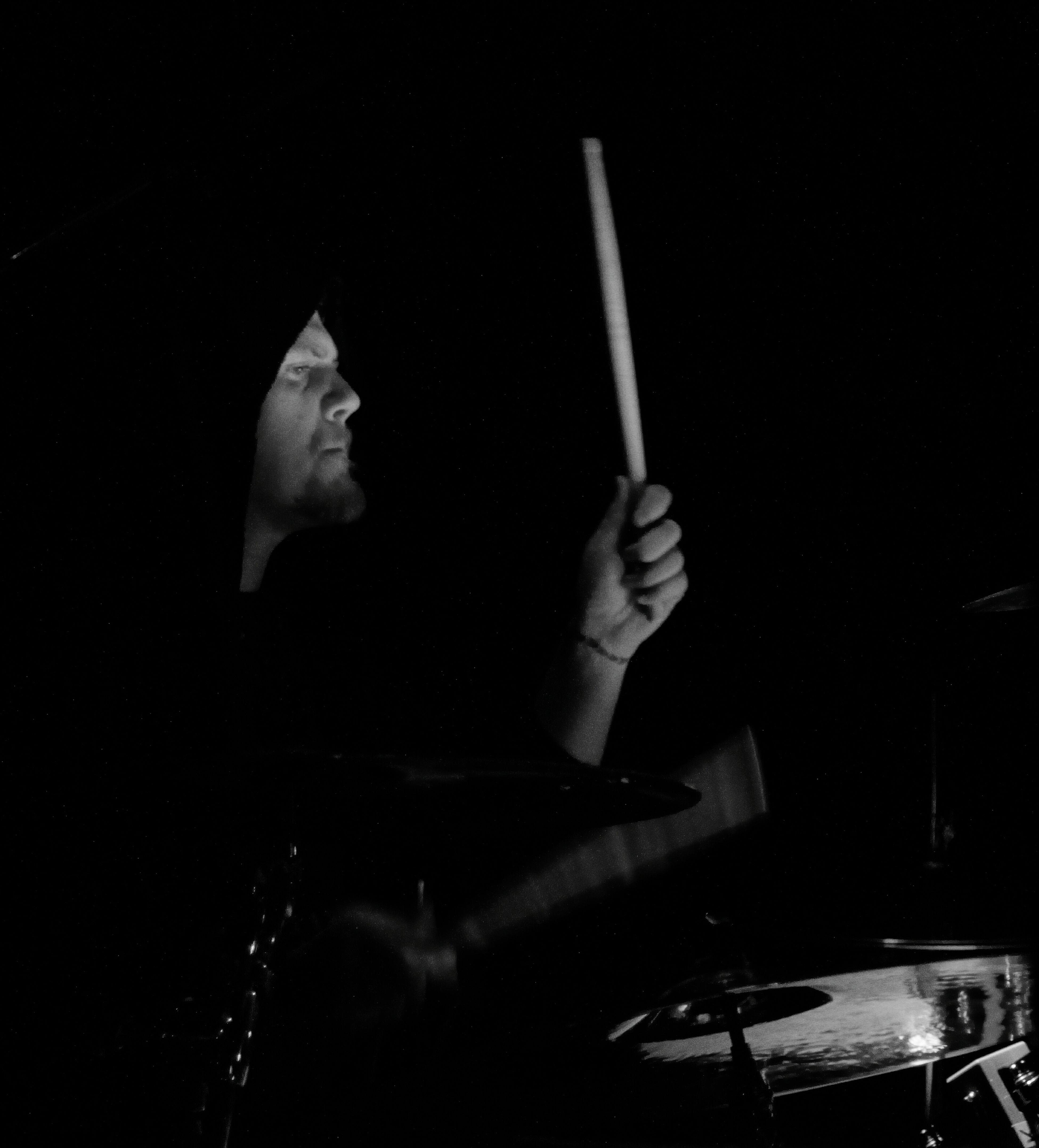 Kampfar Drums Bstick Concert Photography Concert Blackmetal