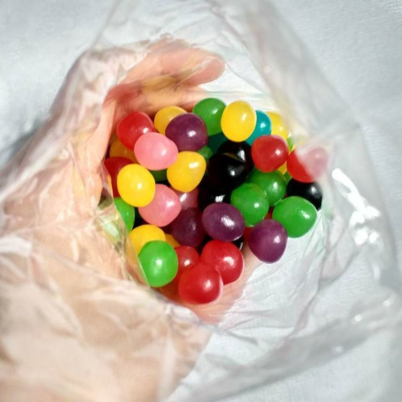 Jellybean Jelly Colorful Yellow Green Skyblue Purple Pink Blue Darkbrown Red Yummy Chewing 젤리 알록달록 맛있다 쫄깃 간식스타그램 Jelly beans 🙌❤