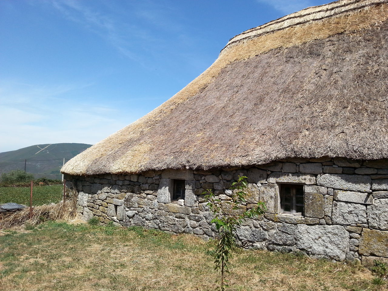 Thatched Roof Horizontal Architecture No People Day Growth Rural Scene Agriculture Nature Sky Outdoors