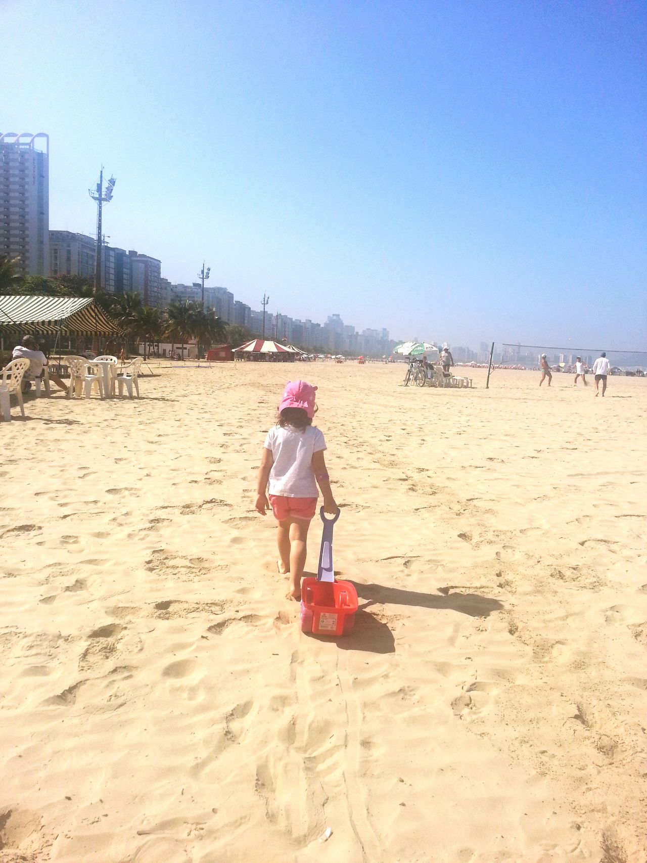 Aunt's day Sunshine Enjoying The Sun Sea Litoralsp Santos