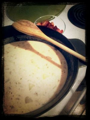 new england clam chowder at Home Sweet Home by Jo C.