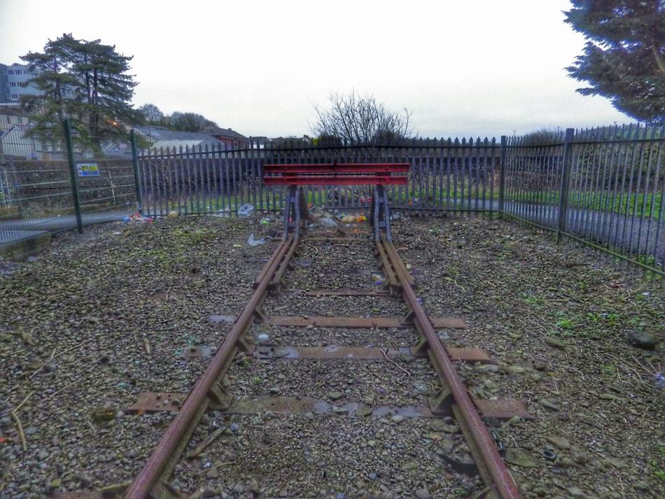 Photography Taking Photos Check This Out Endoftheline End Of The Line Railway Railroad Railwaystation Railway Station Urbanexploration Mytown