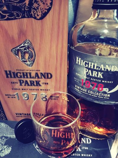 Singlemalt Whiskey Whisky HighlandPark