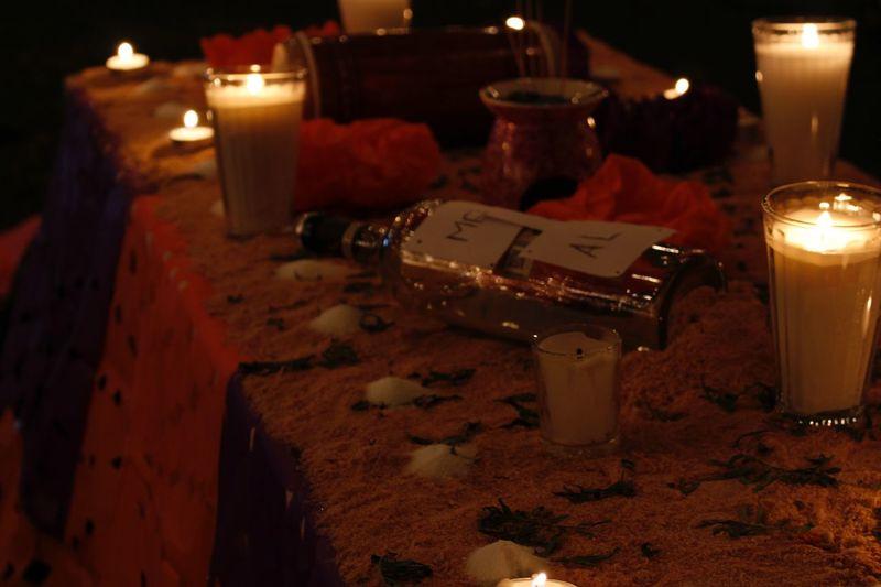 Dia De Muertos México Lights Candle First Eyeem Photo