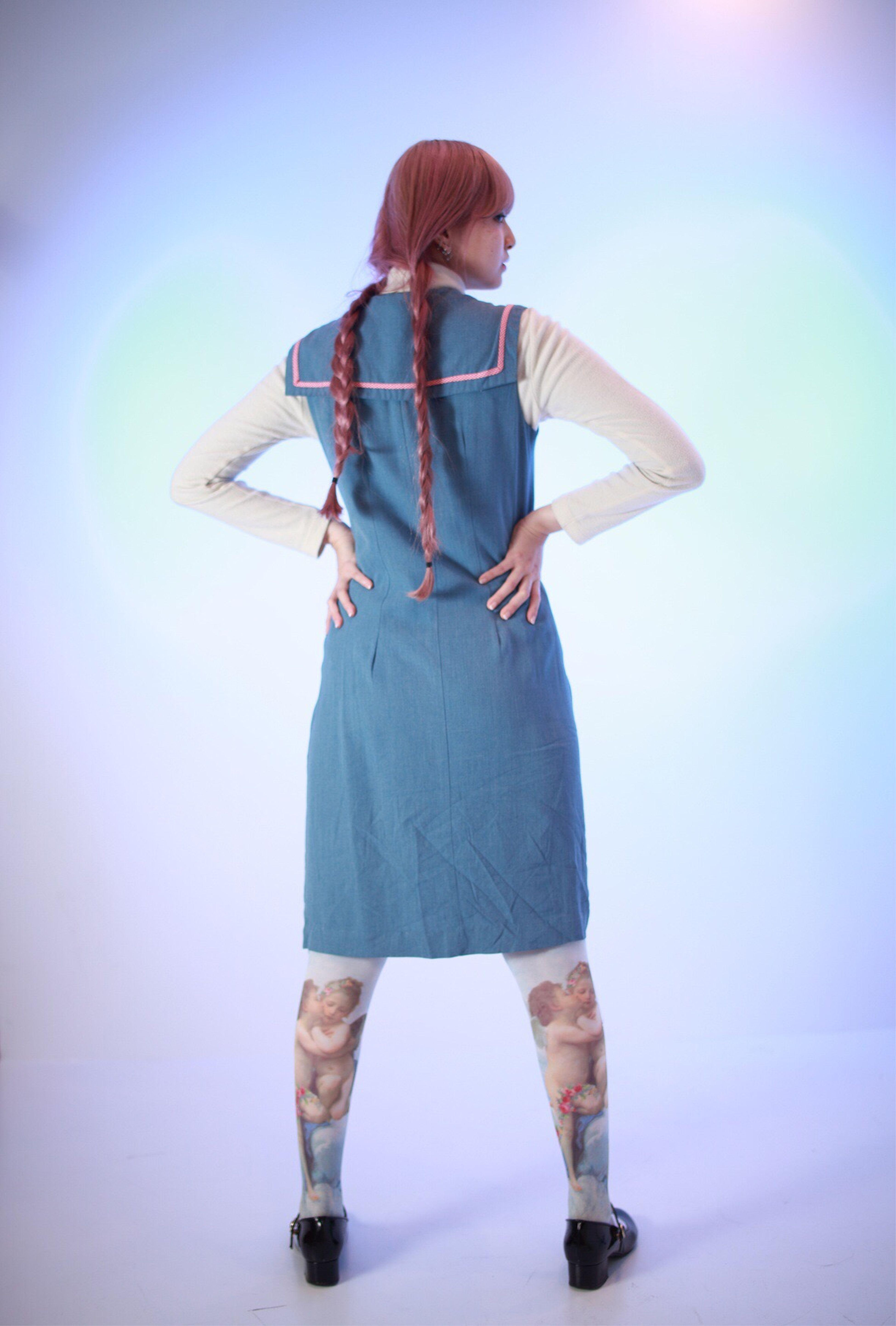 Celeste Steinの1st kiss タイツ おなじみの天使タイツを着用して見舞い。ニーハイとソックスもあります。 #ぽこあぽこ #タイツ #ポコアポコ #tights #pocoapoco #celestestein ぽこあぽこ タイツ ぽこあぽこ Tights Pocoapoco Celestestein