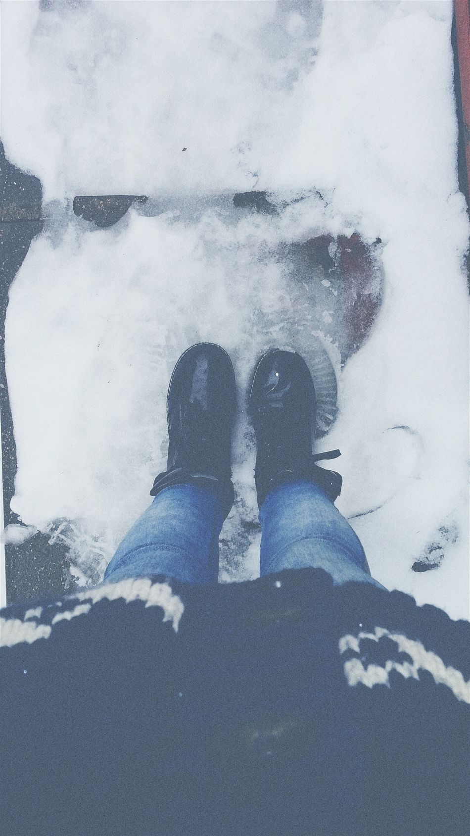 Heyo Boats Snow ❄ And Cold Winter ❄⛄