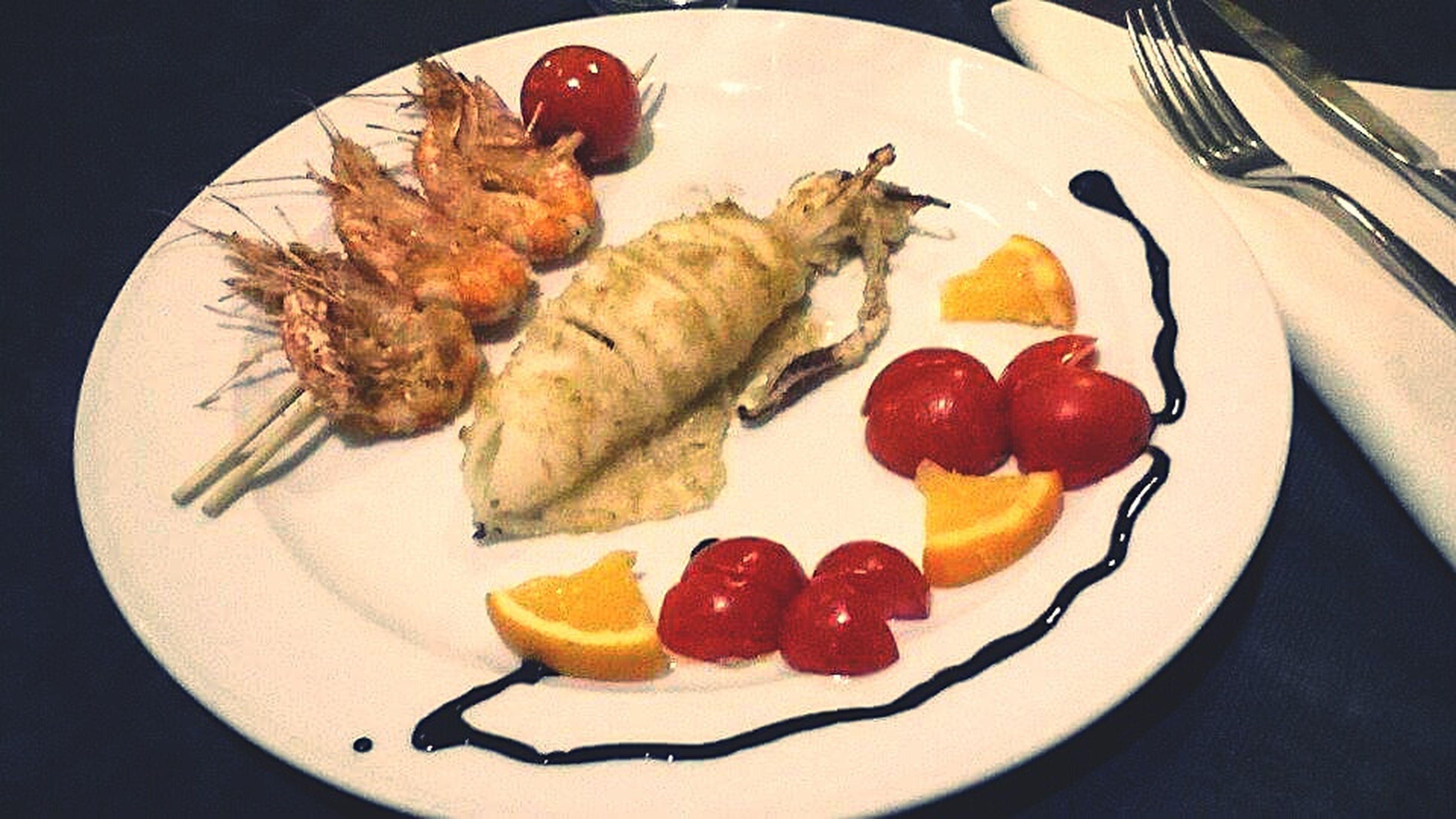 •Italian sea food• Food♡ Yummy Italian Food So Good !  I Like The Composition Artistic Food Foodphotography Foodstagram