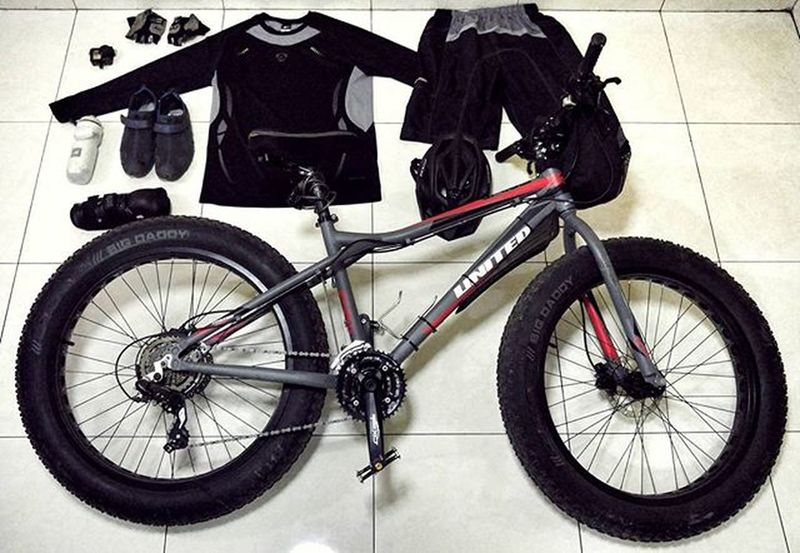 Bicycle Fatbike Fatbikeworld Mérida Reebok Folker Mxl United Grind Gopro Gopro3plus Goproblackedition Val  2016 LG  G4 LGG4 😚