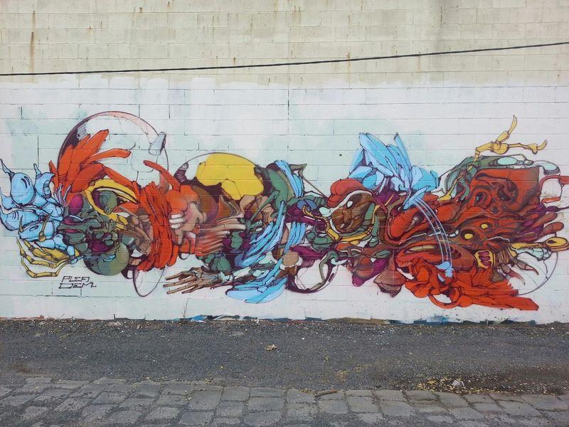 Plea Dem189 Streetart Graffiti