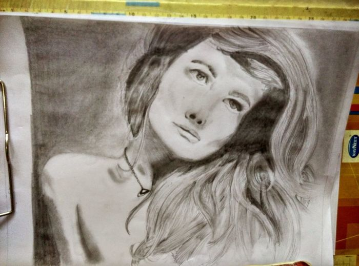 Art Pencil Drawing Portraits EyeEmBestPics done by me justanattempt