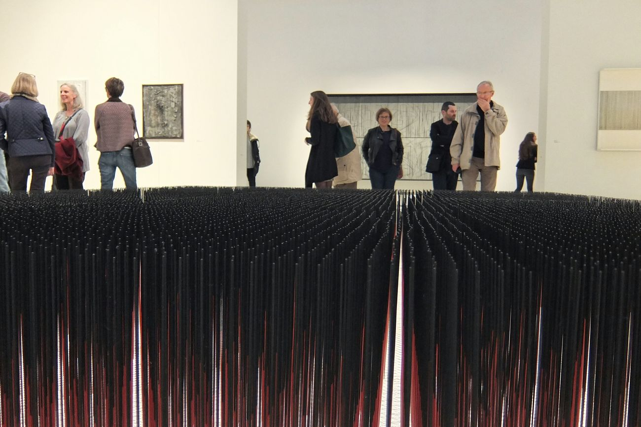 Jesus Soto Musee Soulages Rodez Art Museum Museum Art ArtWork Contemporary Art Rodez Aveyron France Geometry Cinetismo Cinetisme