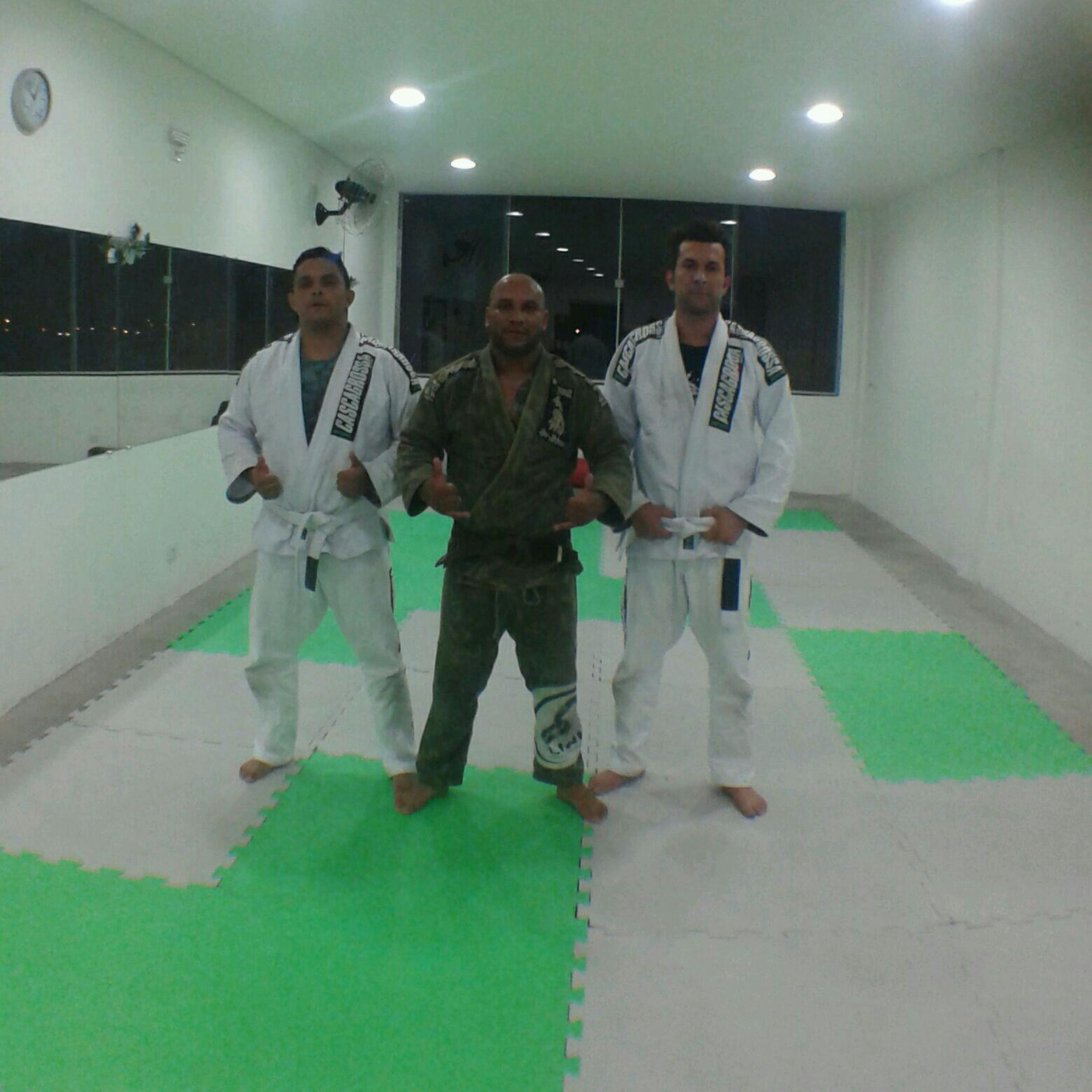 Hoje treino pesado com o mestre Tubarão Jiu e Allan K2Academia