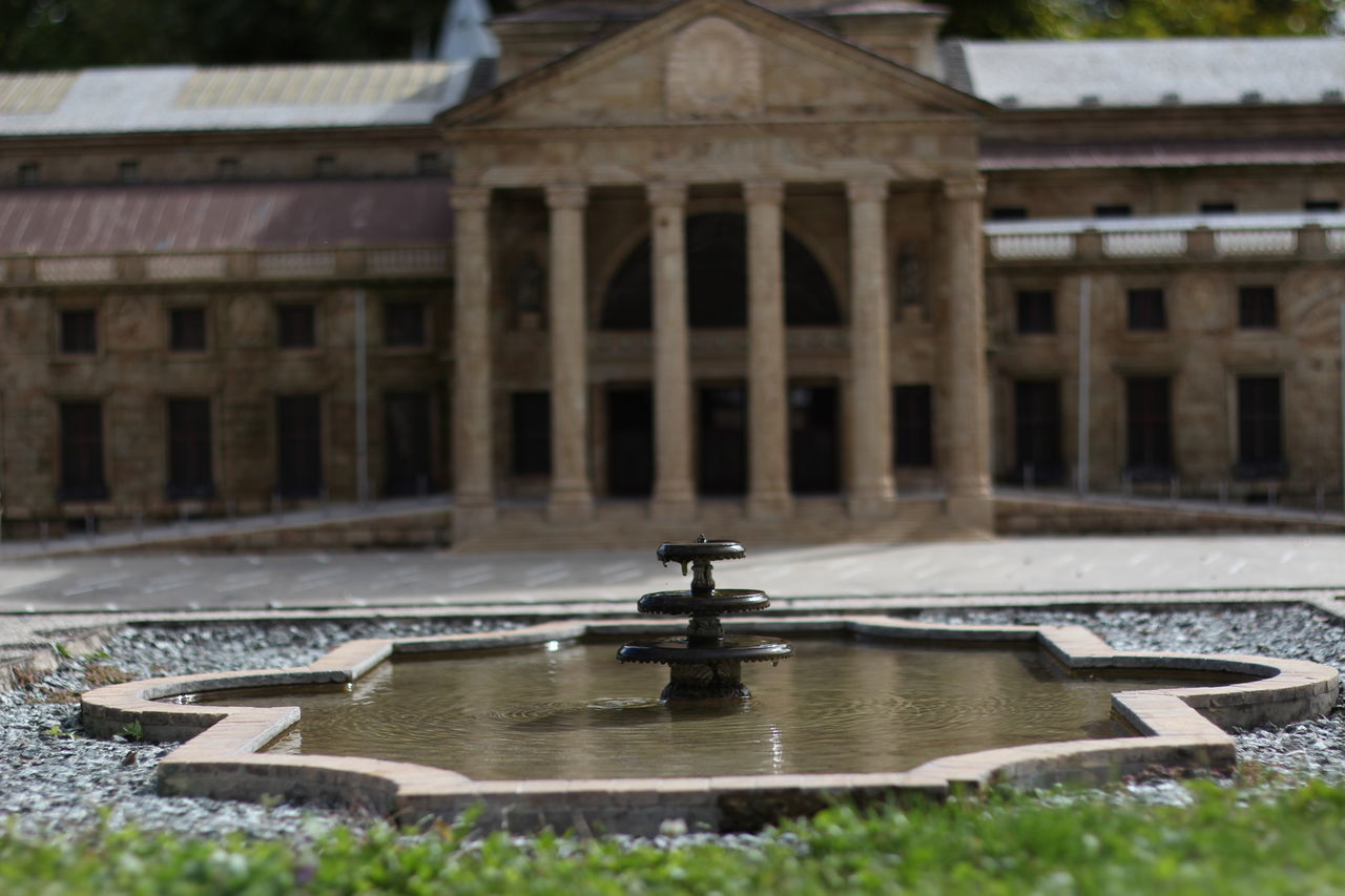 50mm Selective Focus Minimundus Outdoors Architecture Water Architecture Built Structure Building Exterior Famous Place Travel Destinations