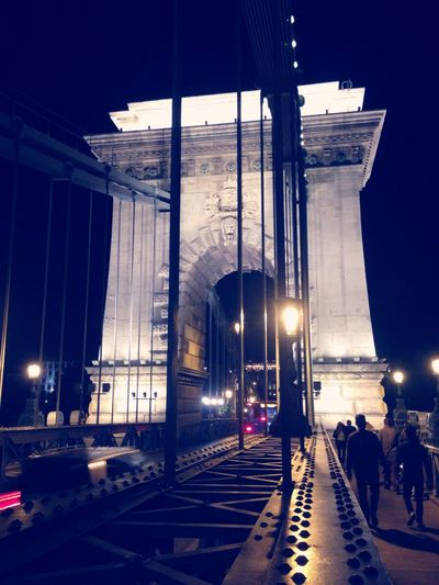 My Year My View The Libertybridge is one of the name given to Szabadsaghid It is famous for it's old Architecture and Structure It is so lit. One of the best place to share some smokes & 🍻 with friends. Architecture Public Transportation Night City Outdoors BudapestHu Szabadság Híd