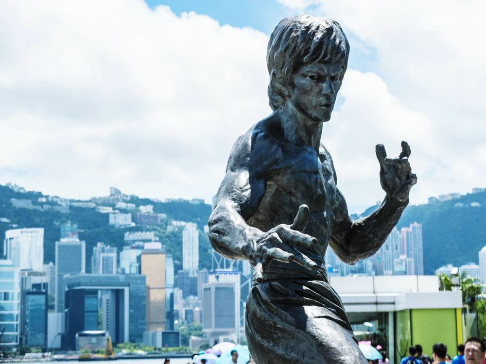 Hong Kong Travel Street Photography Statue Bruce Lee The Master ASIA Travel Photography Photooftheday The Street Photographer - 2015 EyeEm Awards