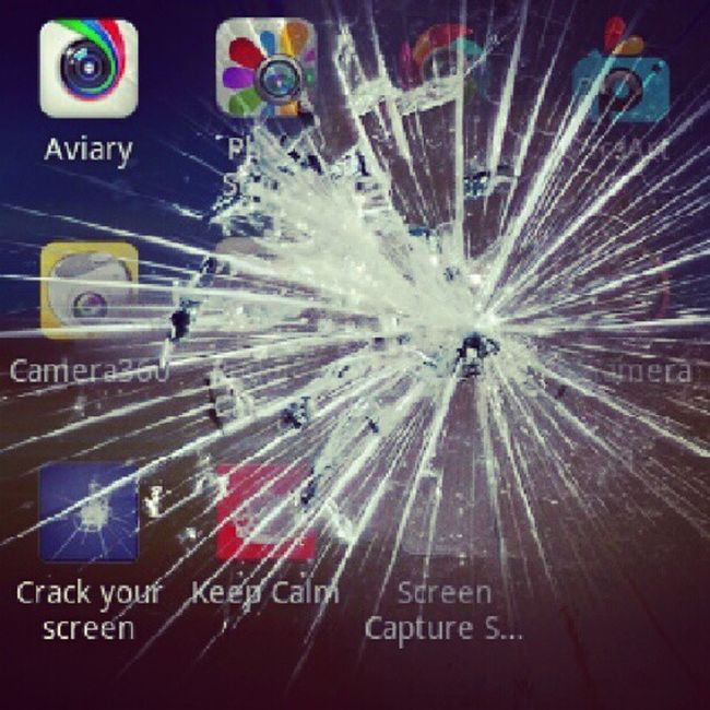 Crack you screen apps Captureit Apps Likethis