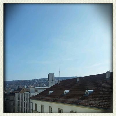 sunshine in Stuttgart by chilibean