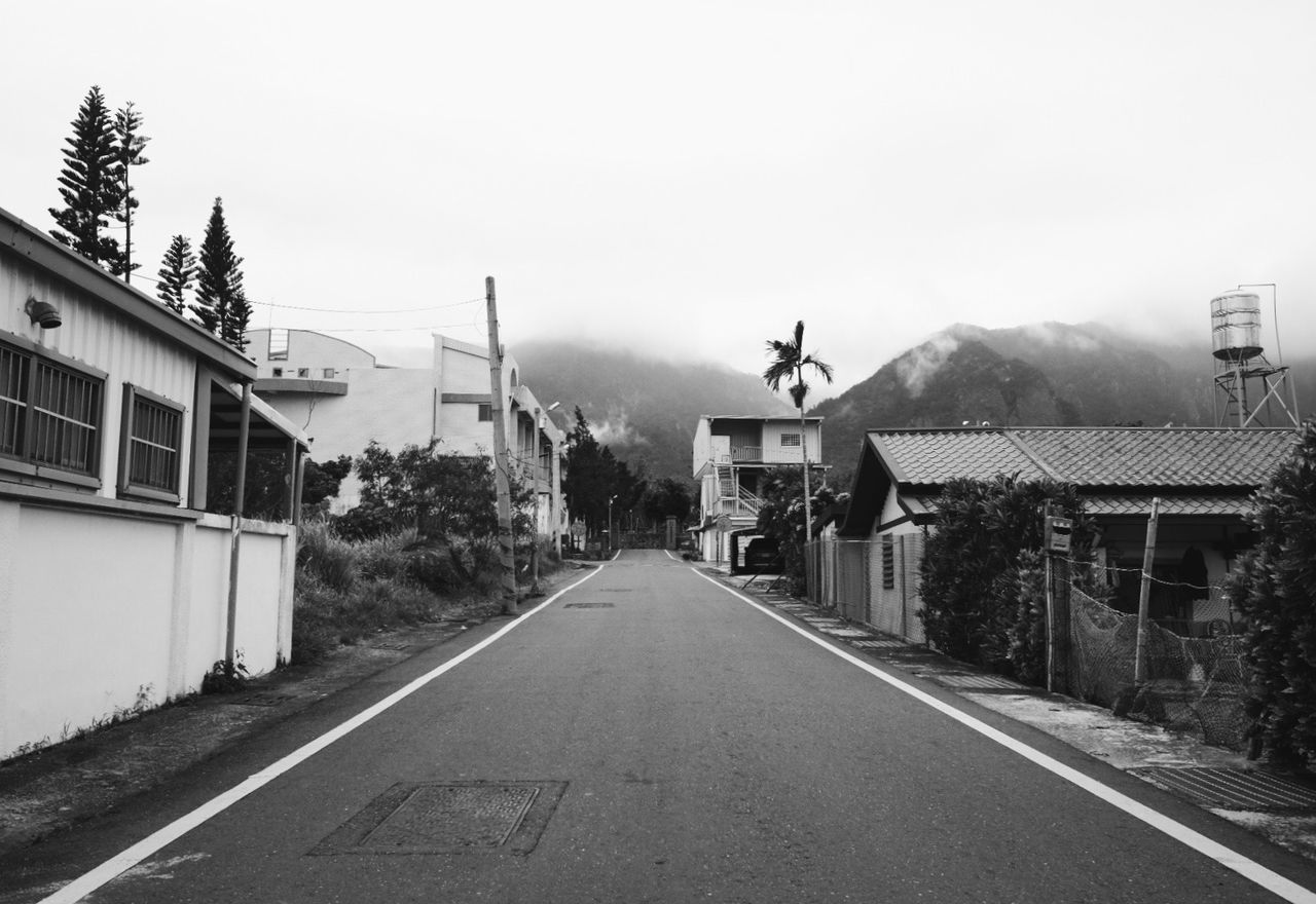 Building Exterior No People Outdoors Road Street Streetphoto_bw Taitung Taitung City Taiwan 都蘭